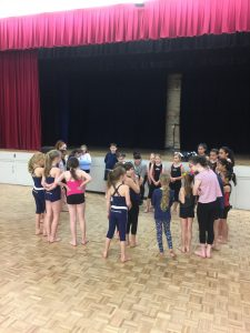 Dancing with Maree- Dance school workshop planning session July 2017